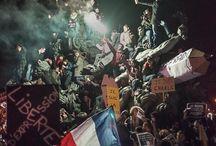 #charliehebdo #libertedexpression / Toutes les images et vidéos sur les attentats contre Charlie Hebdo et la liberté d´expression, la liberté d´être.