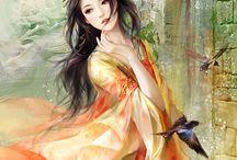 Geishas y Anime