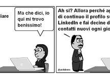 Trovare un (nuovo) #lavoro / Lo stai cercando? Queste vignette ti aiuteranno! Dai un'occhiata e scopri i post pubblicati su www.tibicon.net.