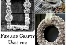 Recycled art / ideas for recycling, upcycling etc