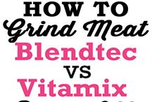 Blendtec Vs. Vitamix and Other Blender Reviews + How To Tips / Get the most comprehensive Blendtec & Vitamix Reviews! We'll give you all the details so you can choose which high speed blender is right for you! Also, check out our how to's and useful tips that will help you become a blender pro!  / by BlenderBabes