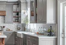 my dream gray kitchen