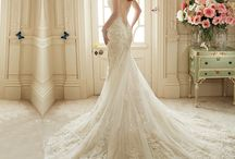 vestidos de novia cola larga