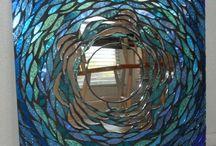 vitráže a mosaiky