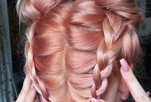 Hair updo's, braids and such