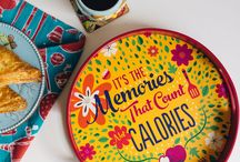 New Colourful Serving Trays!