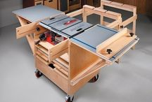 Woodwork table saw