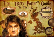 Harry Potter travel gide for the uk / Place's to travel