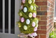 húsvéti kinti dísz