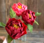 ruže z papiera