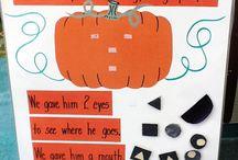 October activities - preschool / by Kiersten Cutsforth