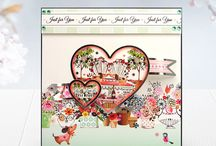 Boutique Chic / The Boutique Chic Luxury Card Collection has an abundance of fabulous views through windows, delicate imagery, and cute little cats and dogs, all set in a range of pretty colours and silver foiling, this kit really does help you create stunning cards!