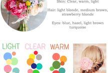 spring/ lente colors