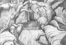 Elfwood drawings