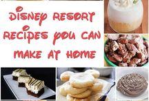 Disney resorts receipes