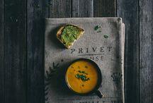 Beautiful Dark Food Photos