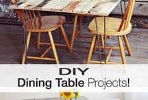 stół do jadalni DIY