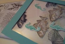 Stampin' up: By the tide