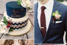 Stunning navy blue Weddings Antalya