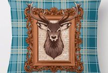 Stag Cushion Covers