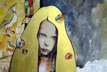Painting Illustration Sculpture / ART / by Nurvitria Mumpuniarti