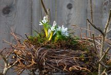 Frühlingsdeko Garten