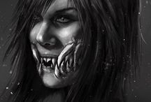 """Mileena Kahnum / """"your face is too repulsive to eat"""""""