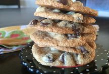 The best grain free choc chip biscuits.
