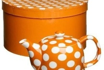 Orange And White