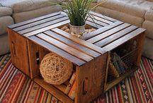 stôl obyvacka