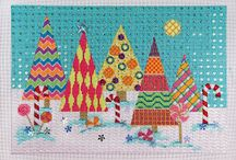 Needlepoint - Christmas /  Focus on Christmas