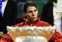 on to favorite sports players like Rafa Nadal. / by Clarcey Brown