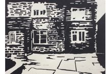 Liz Wellby - relief prints / Lino and woodcuts