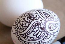 velikonoční dekory