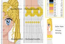 Sailor Moon patterns