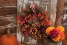 Autumn decorations / by Molly King-Melfi