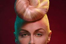 look book- updo avante garde / hair / by Mallory Passione