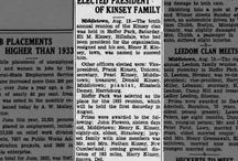 Family History Newspaper Clippings