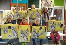 Gemaakt op de Vrijstaat kunstacademie / Kunst die ik heb gemaakt op de Vrijstaat Kunstacademie