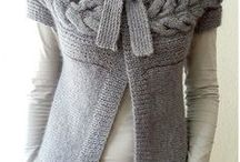 tricot. point de croix. couture