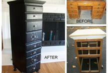 re purposed, recycled & reused / by Katie Bittner