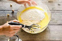 Work in progress / Foto del passo a passo delle ricette.