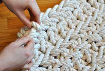Crochetalicious Home Rugs n Pillows / doilies, placemats, pillows, decor