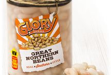 Glory Farms / McCall Farms, known for its tasty line of high quality, southern-style vegetables, introduces a new variety of wonderful, ready-to-eat vegetables in the most innovative vegetable packaging in nearly 200 years: a clear can. Glory Farms, in a one of a kind clear can, lets you see the vegetables you're buying. See the Glory. Taste the Difference.