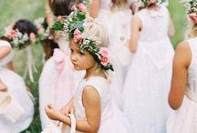 MARIAGE enfants d'honneur