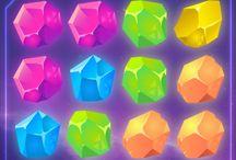 Crystals, jewelry / Crystals, diamonds, jewelry