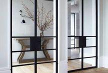 Industrial doors / Smijernsdører/interiør