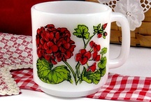 Retro Coffee Cups / There is nothing like having as cup of coffee in a vintage coffee cup. Be sure to visit my blog  http://cdiannezweig.blogspot.com/  Also join my site http://iantiqueonline.ning.com/
