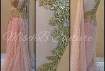 Saree Gown Designs