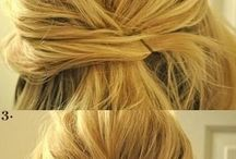Bride's maid hair